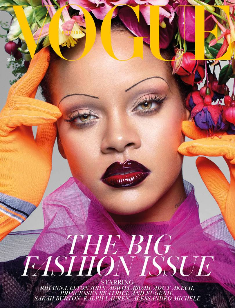 Rihanna Cover The September 2018 Issue Of british vogue
