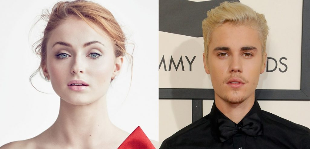 Sophie Turner and Justin Bieber