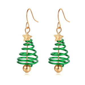 Christmas Dangle Hook Earrings