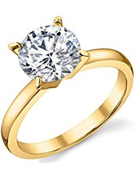 Ring with Round Brilliant
