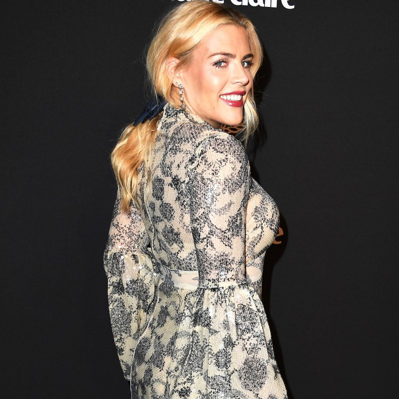 Busy Philipps arrives at the Marie Claire Change Makers Celebration at Hills Penthouse on March 12, 2019 in West Hollywood, California. Steve Granitz/WireImage