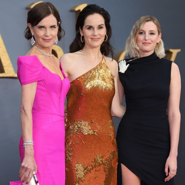 Ladies of Downton Abbey On The Red Carpet