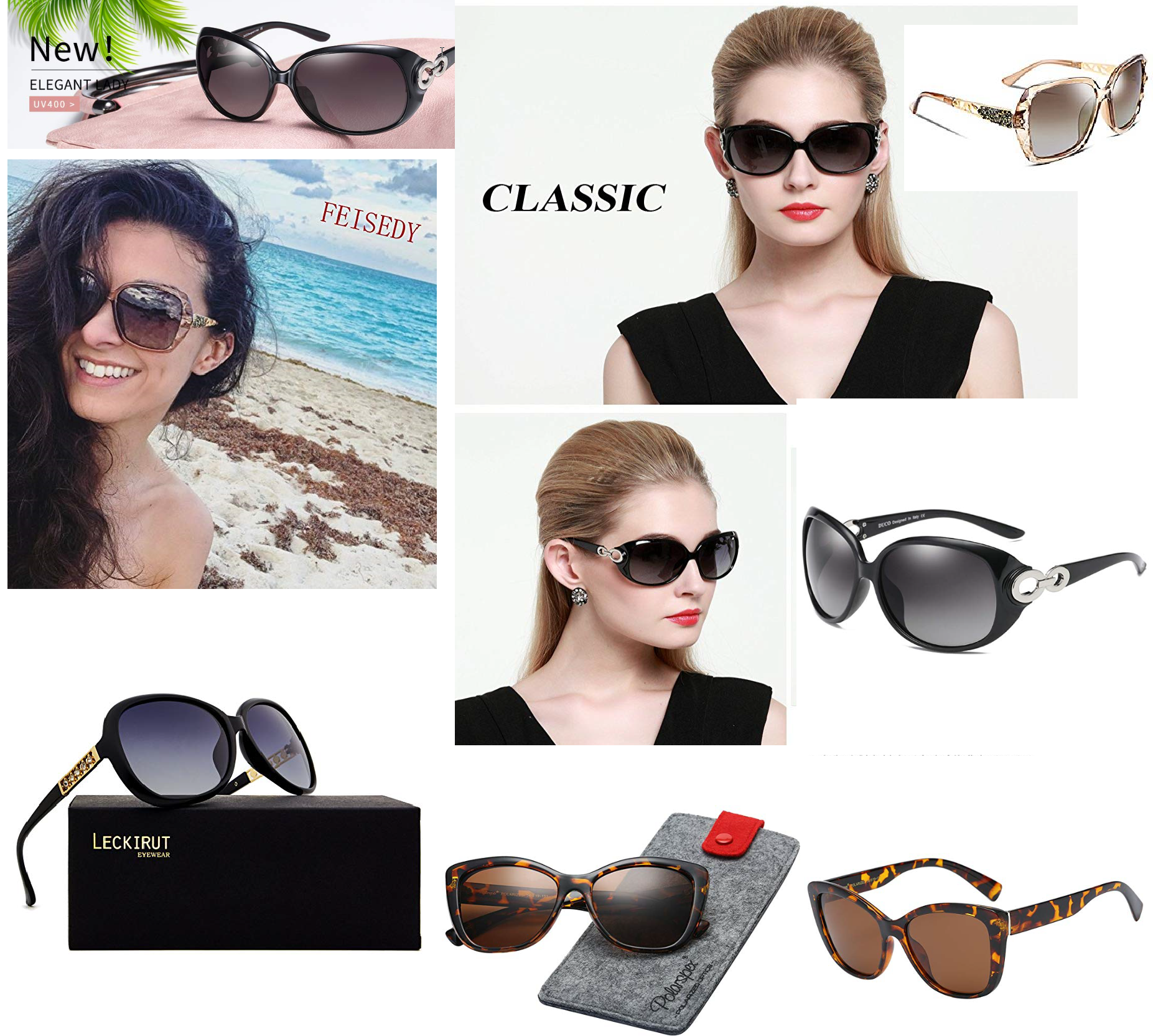 3 The Most Popular Women sunglasses 2019