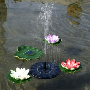 Fashionable Water Fountain with Solar Power