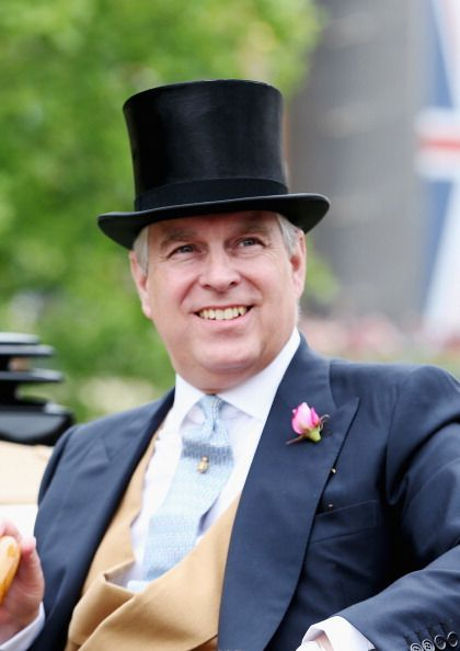 ASCOT, ENGLAND - JUNE 18: Prince Andrew, Duke of York attends day one of Royal Ascot at Ascot Racecourse on June 18, 2013 in Ascot, England. (Photo by Chris Jackson/Getty Images for Ascot Racecourse)