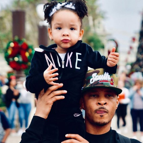 T.I. Gushes Over His Baby Girl, Heiress Harris After Praising All Of His Kids