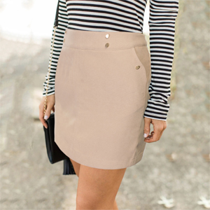 short skirt for women with pockets