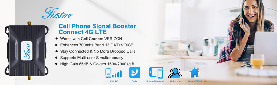 verizon cell phone signal booster for home office basement