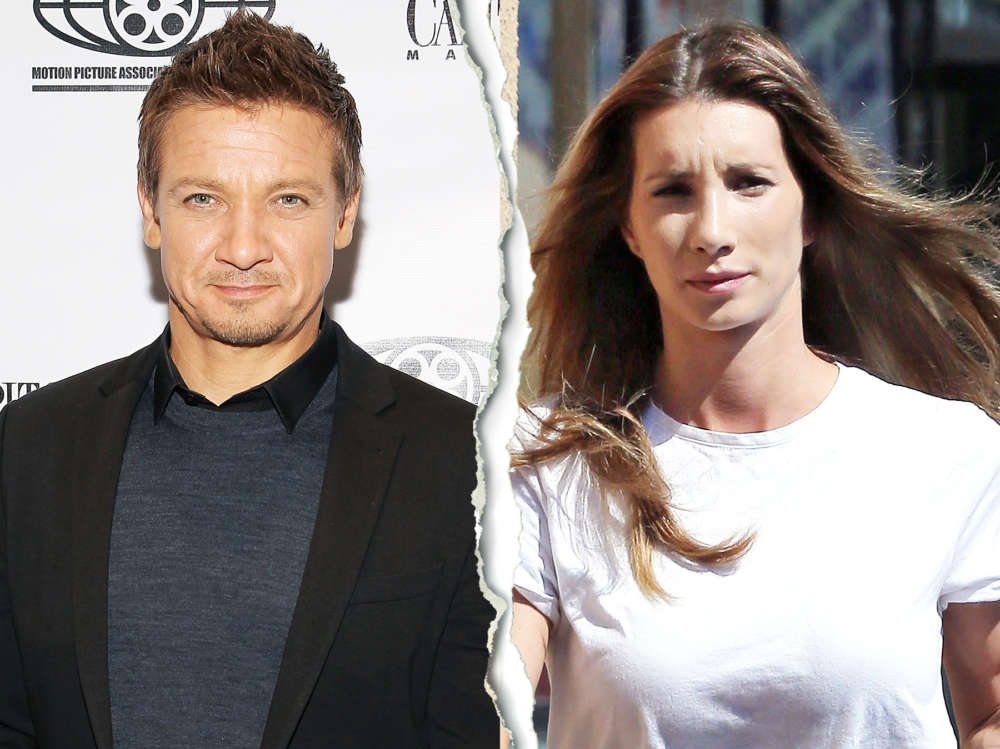 Jeremy Renner and Sonni