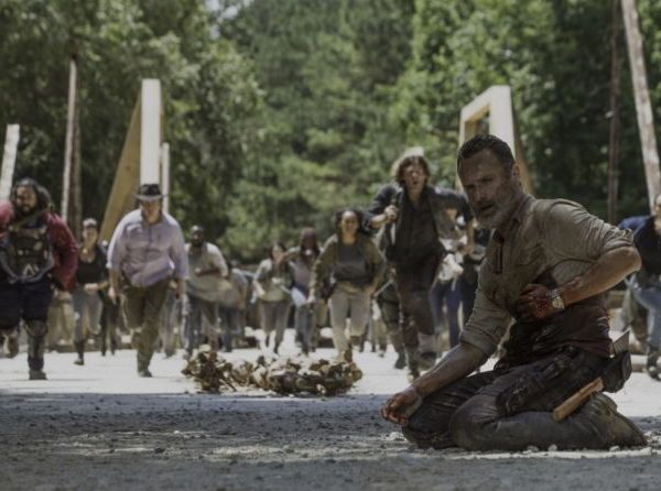 Andrew Lincoln stars as Rick Grimes, as seen in Episode 5 of AMC