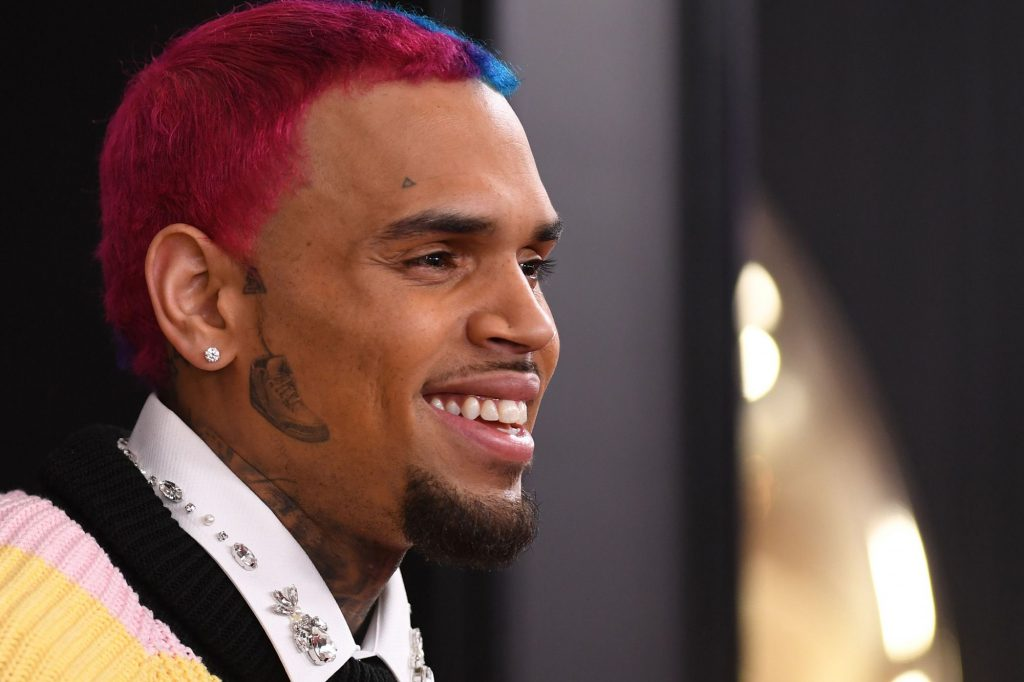 Chris Brown Has Fans Laughing Their Hearts Out After He Posts This Video Featuring A Woman Who Tried To Sneak Over To His Crib: 'Mental Illness Is Real!'