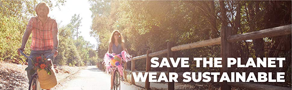 Save the planet, wear sustainable clothing