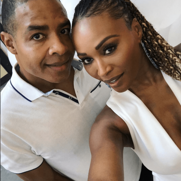 Cynthia Bailey Goes Grocery Shopping With Mike Hill, Showing Off Their Matching Masks - Fans Criticize The Couple