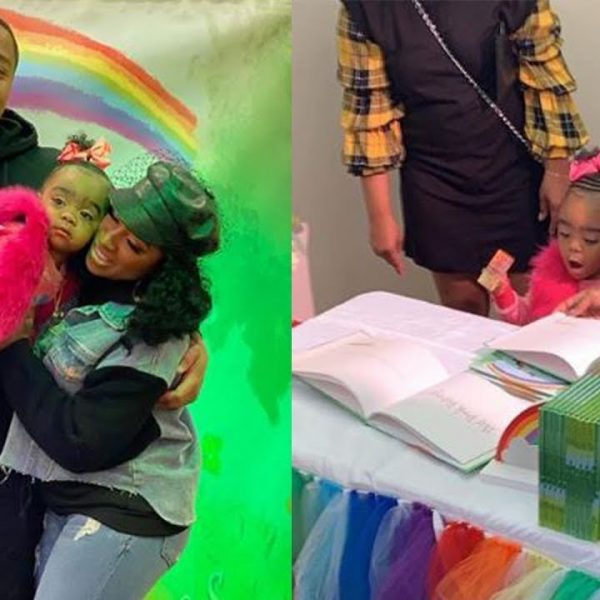 Toya Johnson's Baby Girl, Reign Rushing Looks Like A Walking Doll In The Latest Photos
