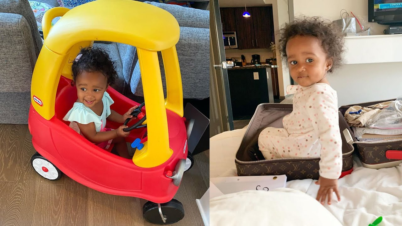 Kenya Moore's Baby Girl, Brooklyn Daly's Hair Is Growing Really Fast And Fans Are In Love With This Living Doll