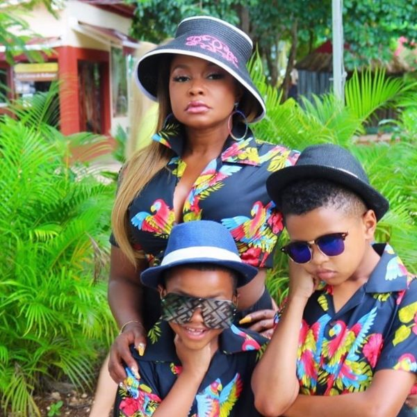 Phaedra Parks' Boys Are The Happiest Kids In Town - Check Out The Video To See The Reason