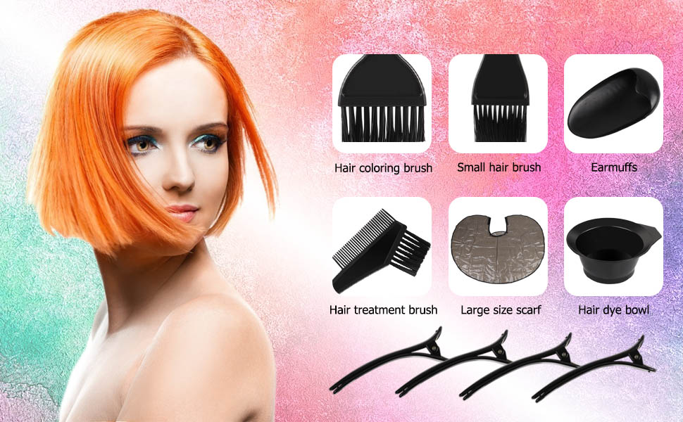 hair coloring kit