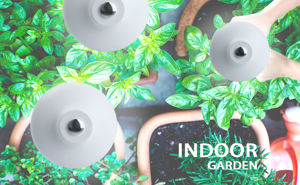 Indoor garden kit, indoor garden kit with light