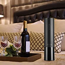 personalized cork screw corkscrew automatic magnetic cordless electric  wine bottles openers