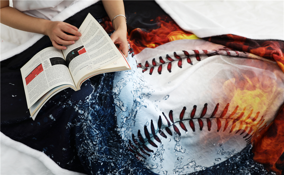 Funny baseball blankets will be a perfect present for any occasion, birthday,