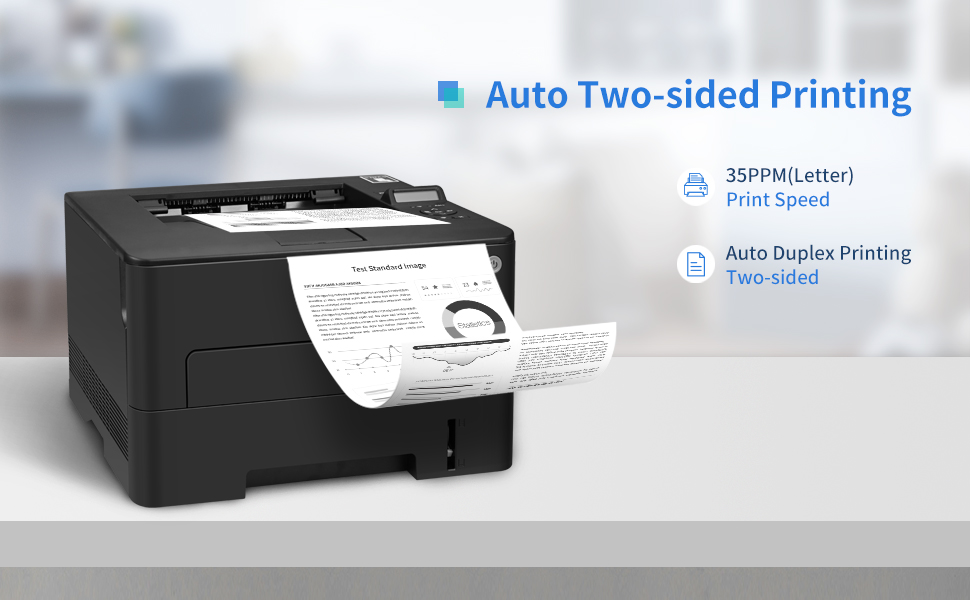 Pantum P3302DN Black and White Laser Printer with Auto Two-Sided for Home Office